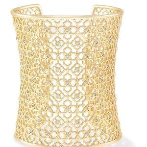 🆕 Kendra Scott Jude Cuff Bracelet In Gold